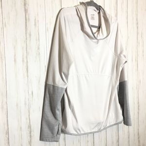 White avia pullover